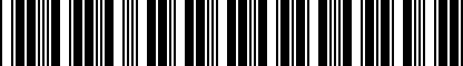 Barcode for DRG009595